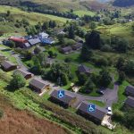 Our accessible lodges at Cologin