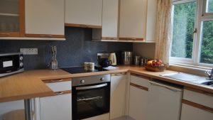 The kitchen at Cruachan Cottage, Cologin