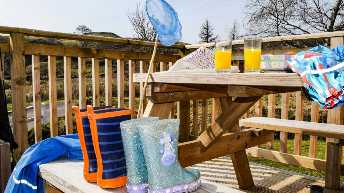 Children are welcome at Cologin self-catering near Oban