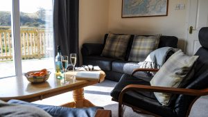 Relax and unwind in our cosy self catering lodges near Oban