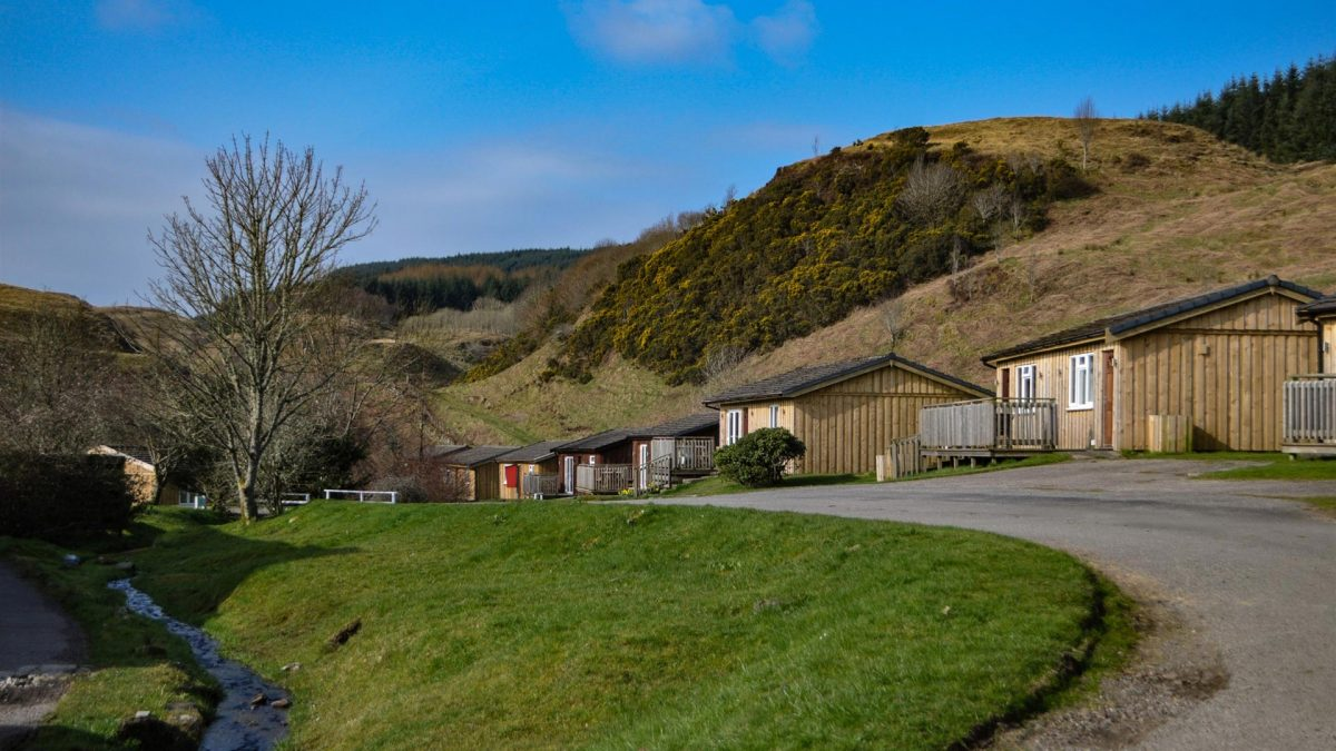 Self-catering Lodges & Chalets at Cologin, near Oban