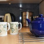 Tea time at Cruachan Cottage, Cologin