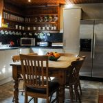 Cologin Farmhouse kitchen with Esse range