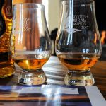 A dram by the fire in Cologin Farmhouse, self-catering for families or groups near Oban