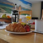 Breakfast in our Lodges at Cologin, near Oban
