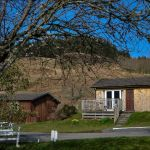 Outer Hebridean self-catering chalets at Cologin, near Oban